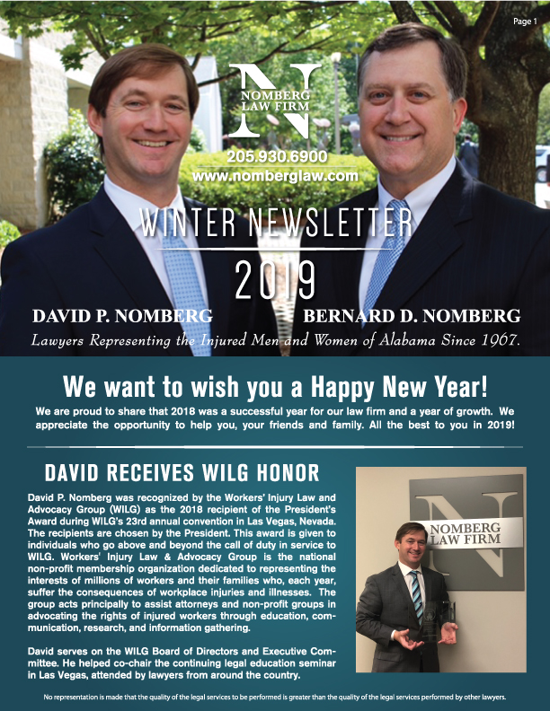 winter newsletter part 1
