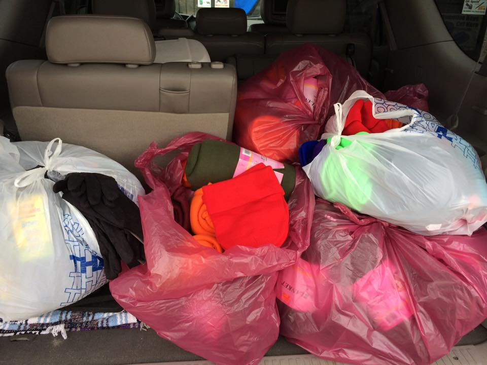 community donation photos for nomberg law cares