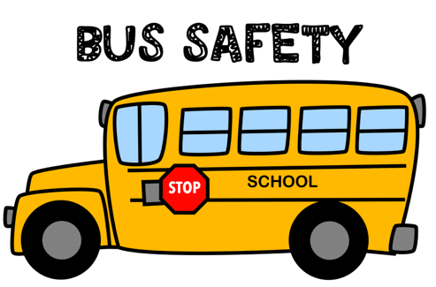 bus safety custom graphic