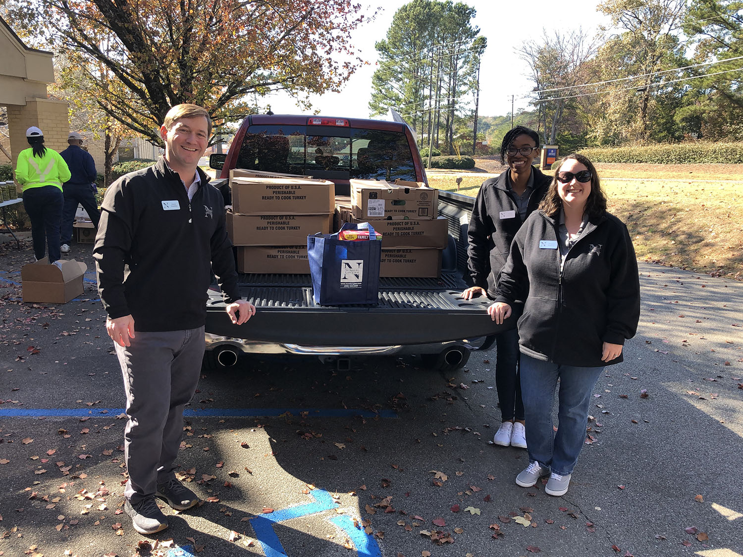 photo of birmingham al attorney david nomberg involved in a community oriented charitable act