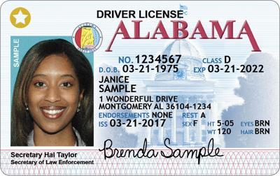 star id alabama driver's license